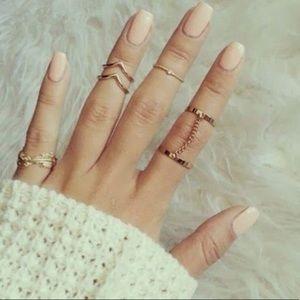 ♡ Lulu Midi Rings ♡